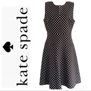 Kate Spade Diamond Jacquard A-Line Dress
